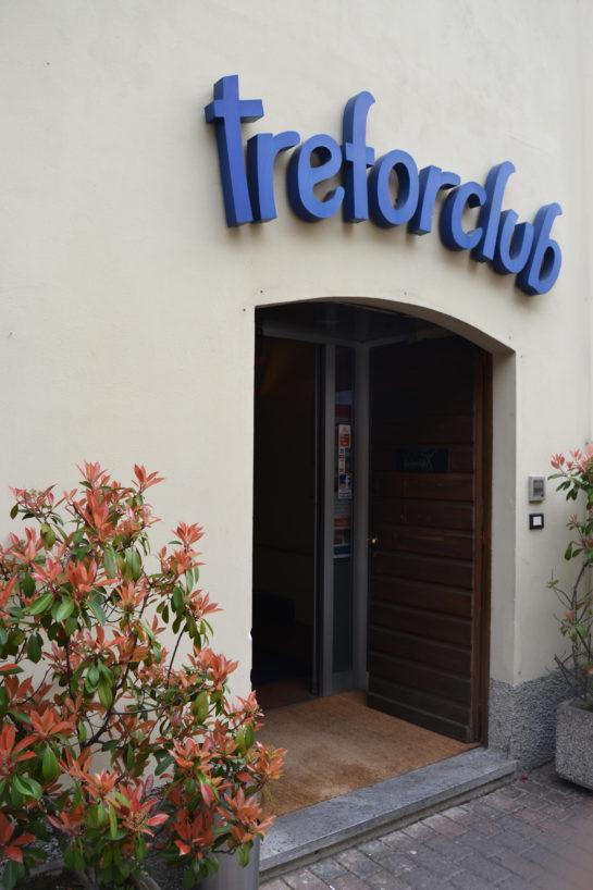 Treforclub | San Donato milanese | Ingresso